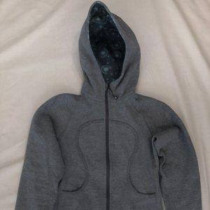 Lululemon gray fullzip hooded coat